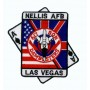 Embroidered patch - Nellis Las Vegas - Patche 10x9.5cm