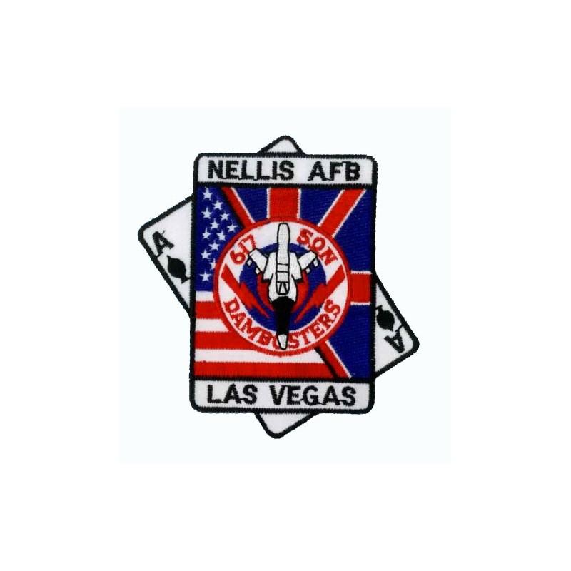 patch bordado de - Nellis Las Vegas - Patche 10x9.5cm