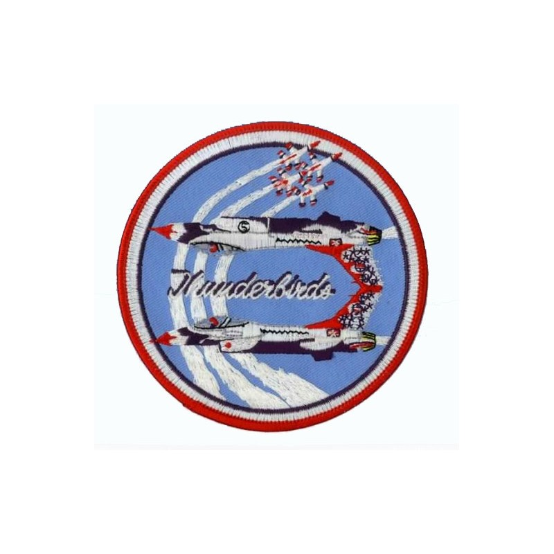 Embroidered patch - Thunderbirds - Patche 11cm