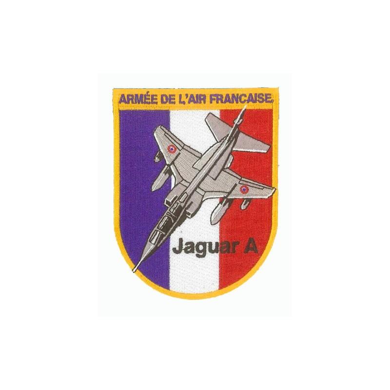 Jaguar A - Armée de l'Air - - Ecusson 11.5x9cm