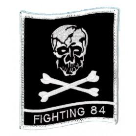 Geborduurde pleister - Fighting 84 - Geborduurde pleistere 10.5x9.5cm
