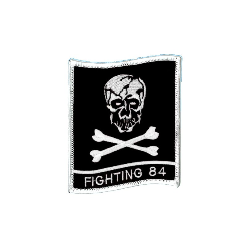 Embroidered patch - Fighting 84 - Patche 10.5x9.5cm