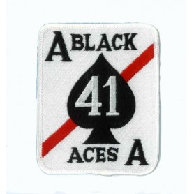 Black aces - ecusson 9x7.5cm