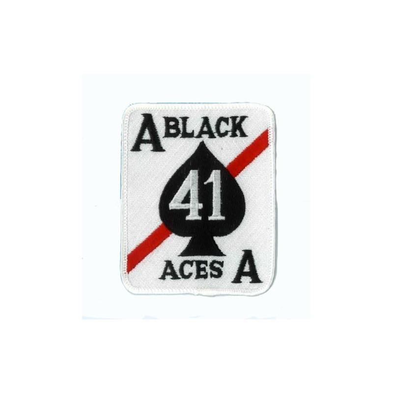 patch bordado de - Black aces - Patche 9x7.5cm