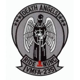 Geborduurde pleister - Death Angels VMFA-235 - Geborduurde pleistere 12x10cm