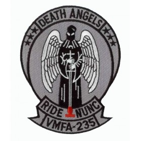 Embroidered patch - Death Angels VMFA-235 - Patche 12x10cm