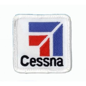 Embroidered patch - Cessna logo - Patche 5x5cm