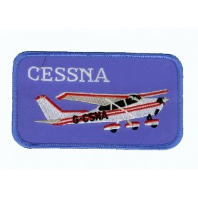 Embroidered patch - Cessna - Patche 11x5cm