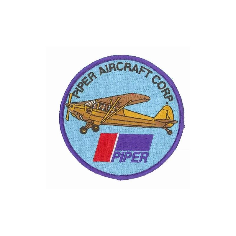 patch bordado de - Piper J3 Aircraft - Patche 10cm