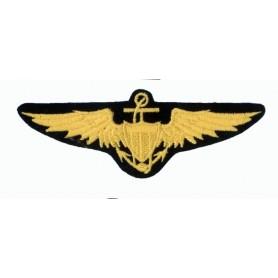 Geborduurde pleister - US Navy Pilot Wings - Geborduurde pleistere 11x4cm