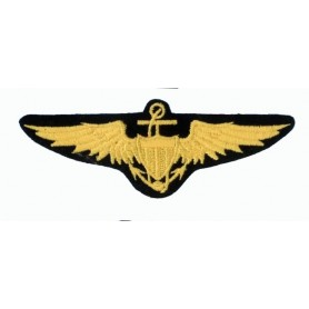 Embroidered patch - US Navy Pilot Wings - Patche 11x4cm