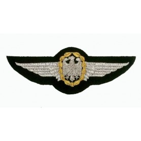 Geborduurde pleister - German Air Force wings - Geborduurde pleistere 12.5x4.5cm