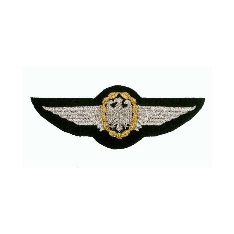 Embroidered patch - German Air Force wings - Patche 12.5x4.5cm