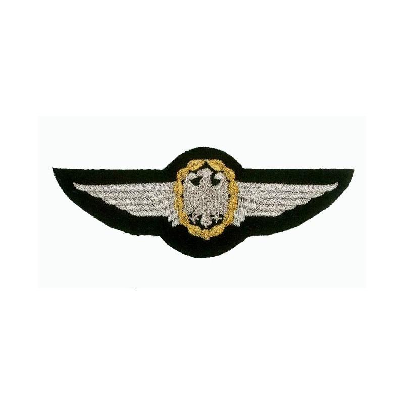 patch bordado de - German Air Force wings - Patche 12.5x4.5cm