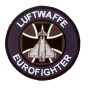 Embroidered patch - Luftwaffe Eurofighter - Patche 10cm