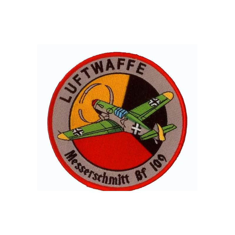 Embroidered patch - Luftwaffe Messerschmitt BF109 - Patche 11.5cm