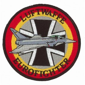 Luftwaffe Eurofighter. Ecusson 10cm