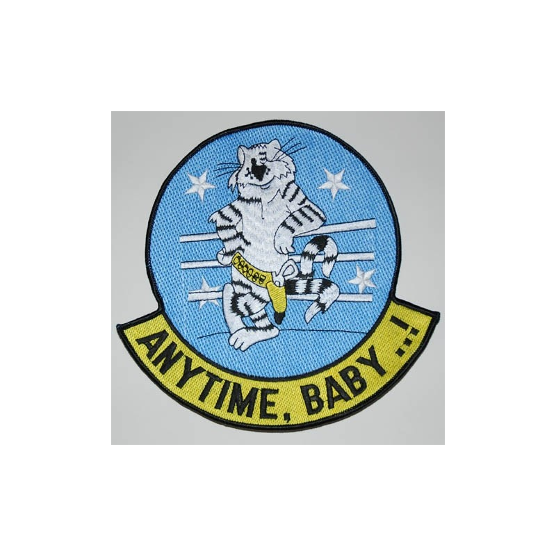 Embroidered patch - Anytime Baby