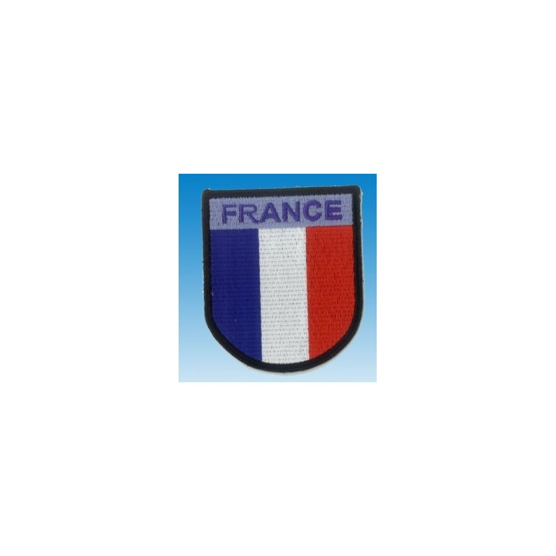 Embroidered patch - France Patche 7 x 6cm