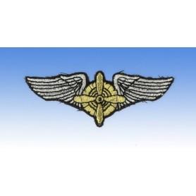 Geborduurde pleister - Flight Engineer Wings - Geborduurde pleistere 8 x 3cm