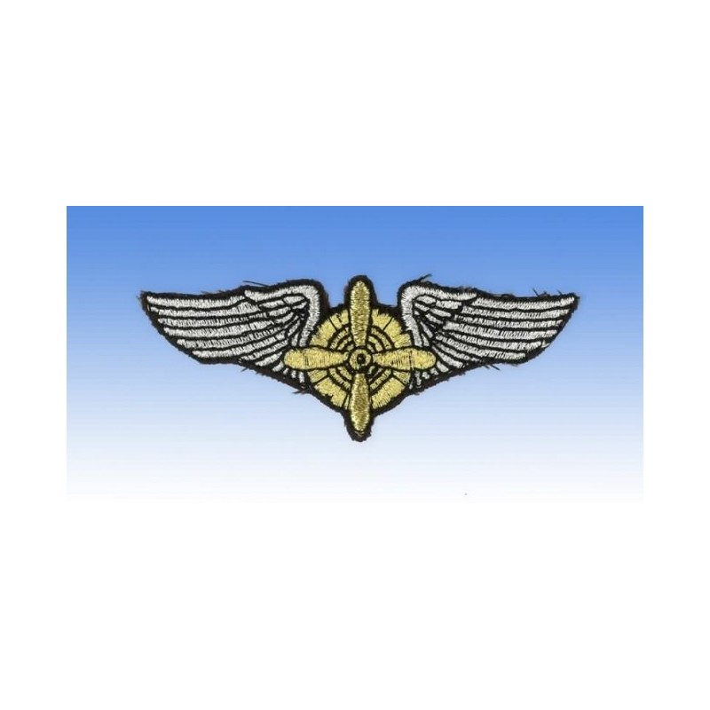 Embroidered patch - Flight Engineer Wings - Patche 8 x 3cm