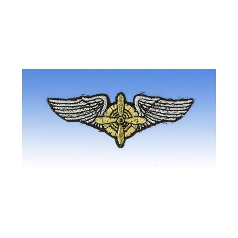 Flight Engineer Wings - Ecusson 8 x 3cm