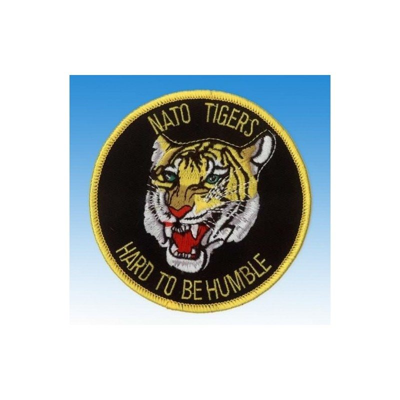 patch bordado de - Nato Tigers - Hard to be Humble - Patche 10cm
