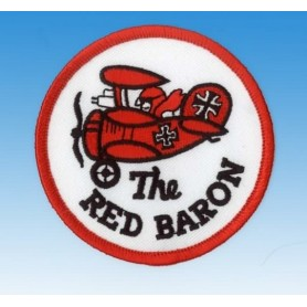 Embroidered patch - The red baron - Patche 7.5cm