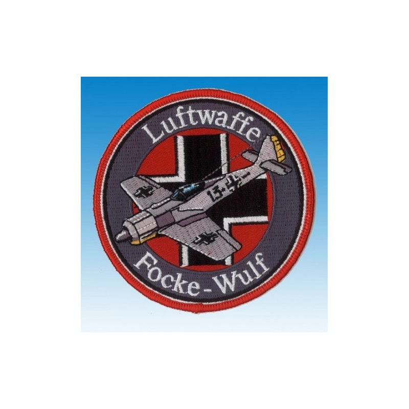 Embroidered patch - Focke Wulf Luftwaffe -Patche 10cm