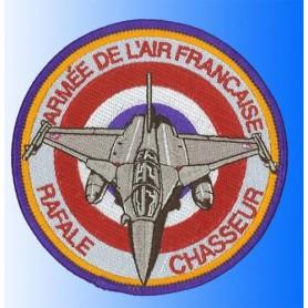 Geborduurde pleister - Rafale Armée de l'air Frenche . Geborduurde pleistere 10cm
