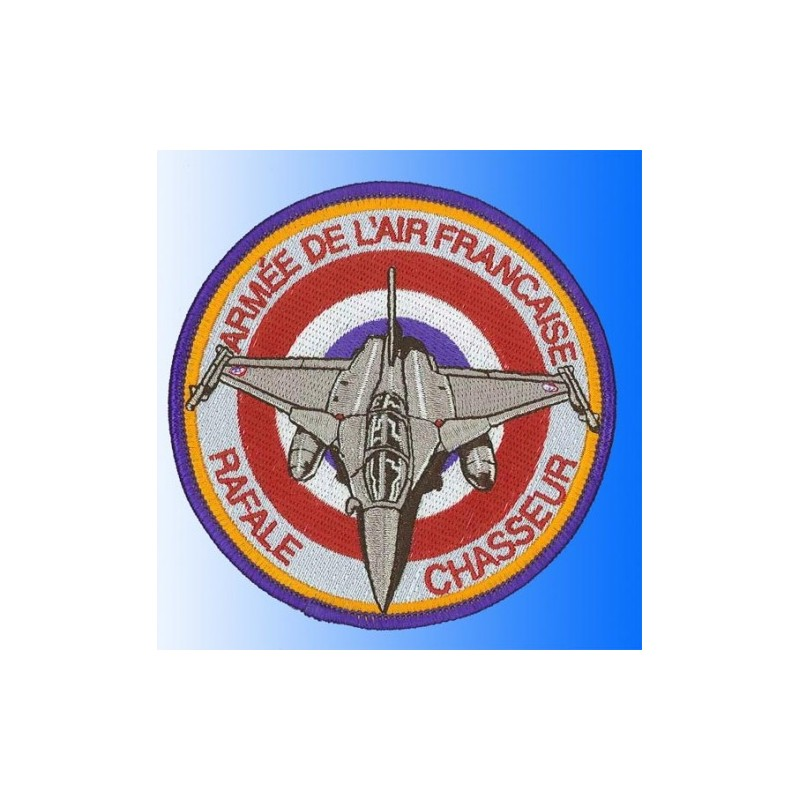 patch bordado de - Rafale Armée de l'air Frenche . Patche 10cm