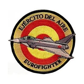 Ejercito del aire Eurofighter. Ecusson patch 10cm