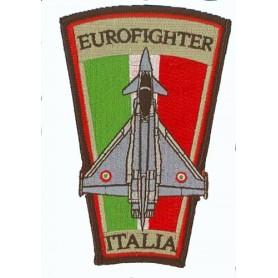 Geborduurde pleister - Aeronautica militare Eurofighter. Geborduurde pleistere 10cm
