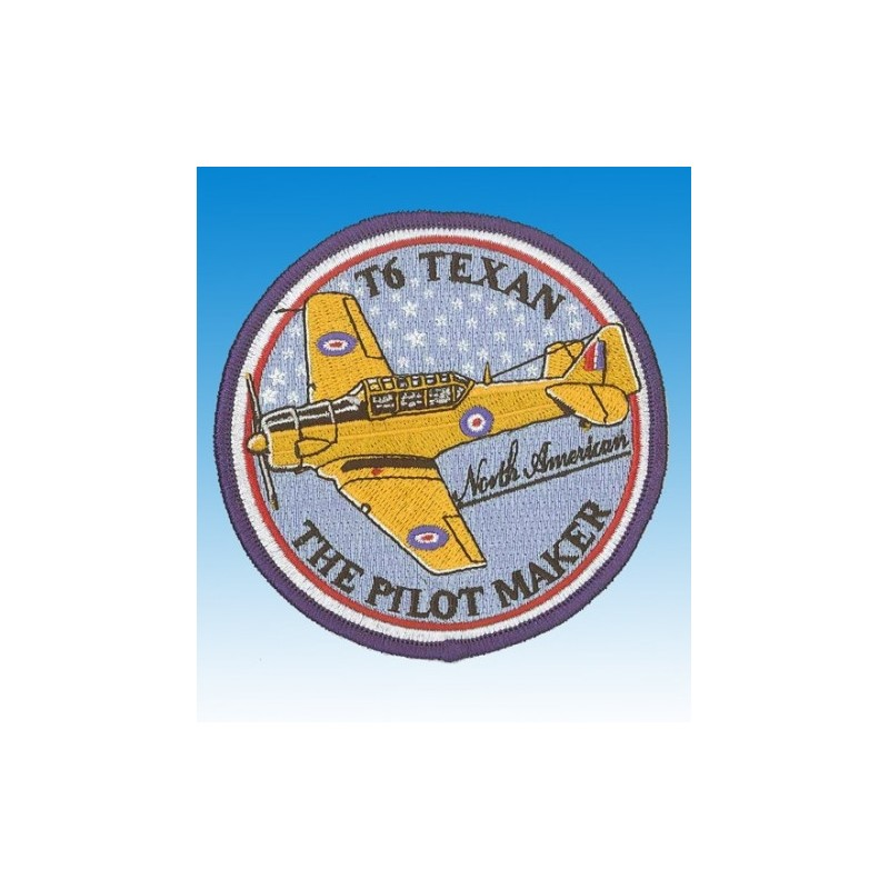 T-6 Texan - Ecusson 10cm