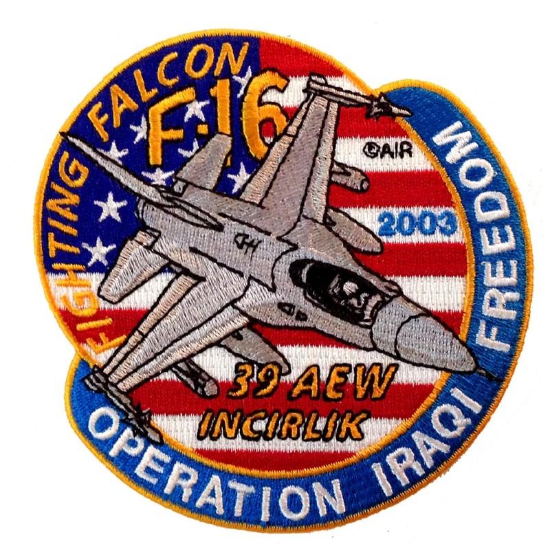Patch F-16 39 AEW Iraqi