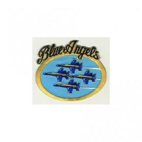 Geborduurde pleister - Blue Angels - Geborduurde pleistere 13x9cm