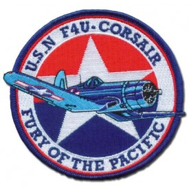 Corsair Vought F4U Boyington - Ecusson patch 10cm