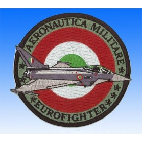 Aeronautica militare Eurofighter. Ecusson patch 10cm
