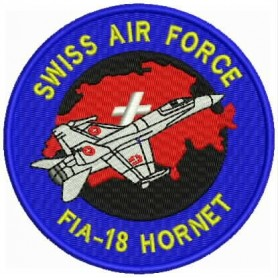 Patch FA-18 Hornet Swiss Air Force