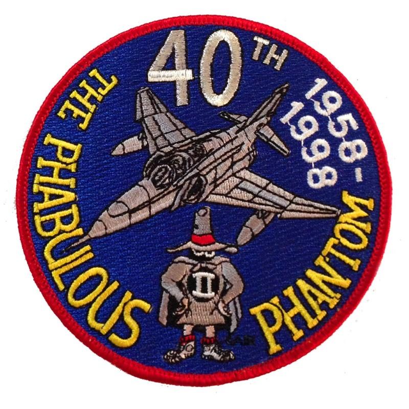 Patch Phamtom 40th