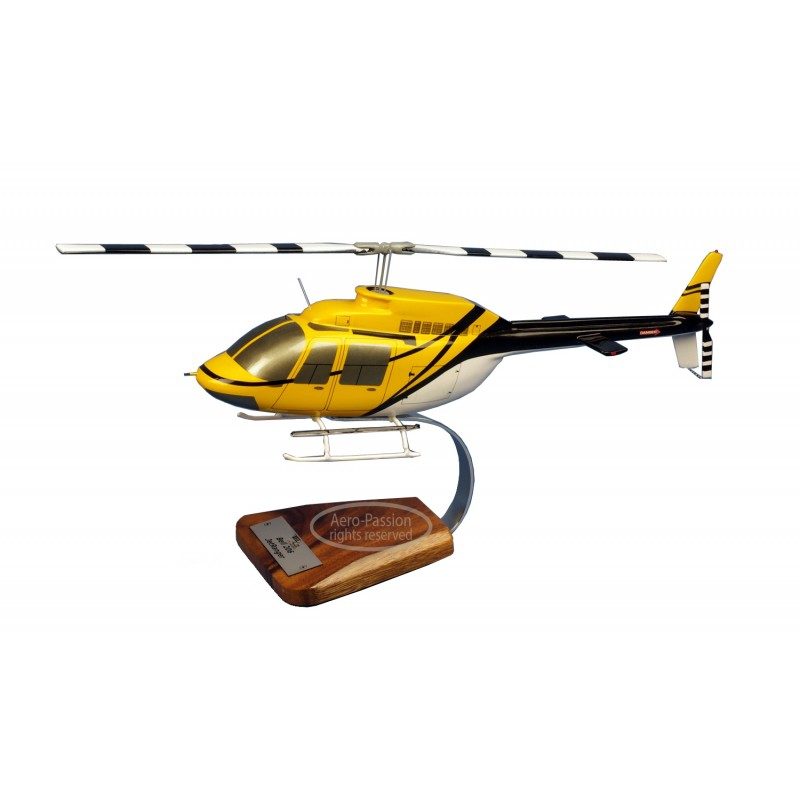 maquette helicoptere - Bell 206.A Jet Ranger