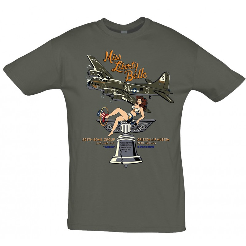 Tee shirt NEW Liberty Belle
