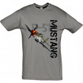 Tee shirt NEW P-51 Mustang