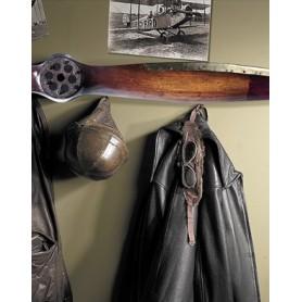 Wood edge brass propeller 186cm