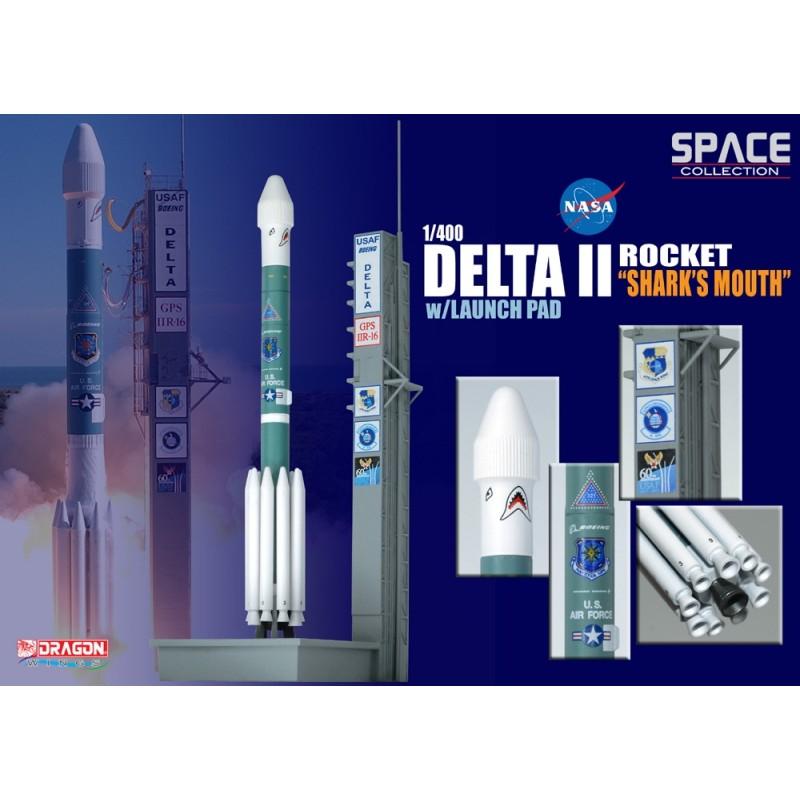 Delta II Rocket USAF GPS-IIR-16 - 1/400