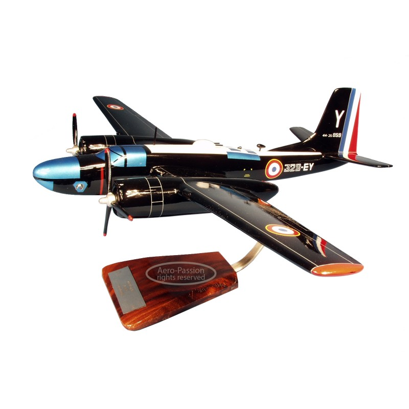 plane model - B-26C Invader Marine Nationale plane model - B-26C Invader Marine Nationaleplane model - B-26C Invader Marine Nati