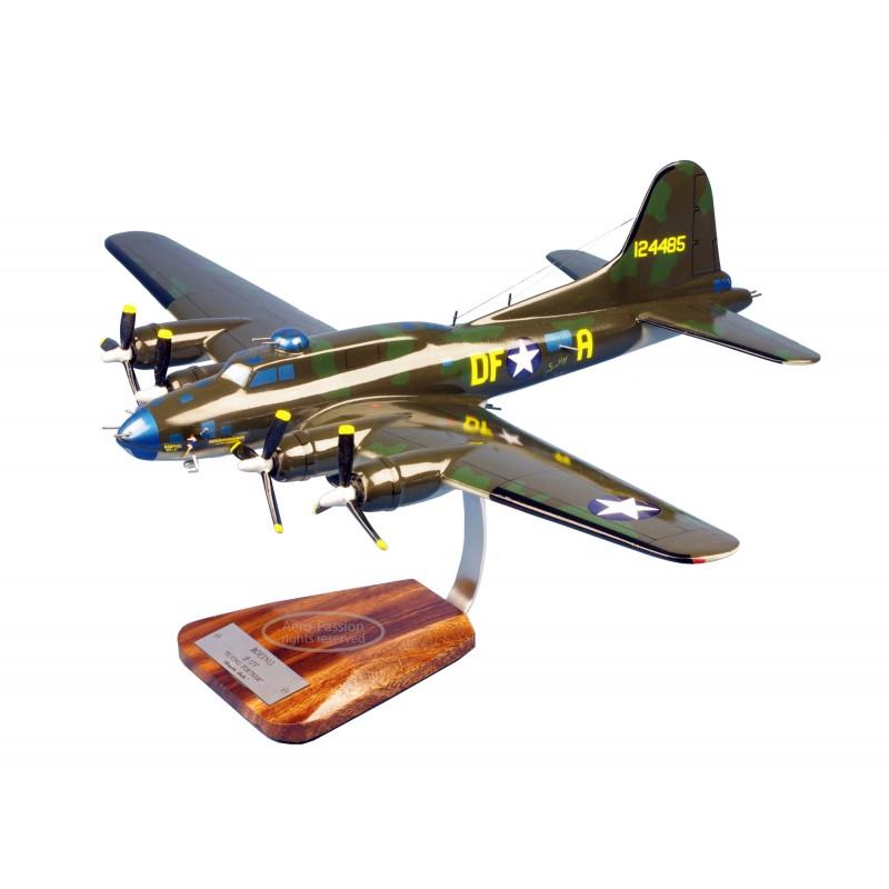 modelo de avião - B-17F Flying Fortress 'memphis Belle' modelo de avião - B-17F Flying Fortress 'memphis Belle'modelo de avião -