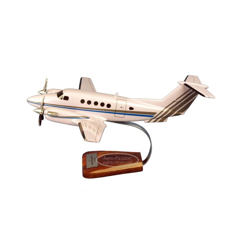 plane model - Beech 200 King Air plane model - Beech 200 King Airplane model - Beech 200 King Air