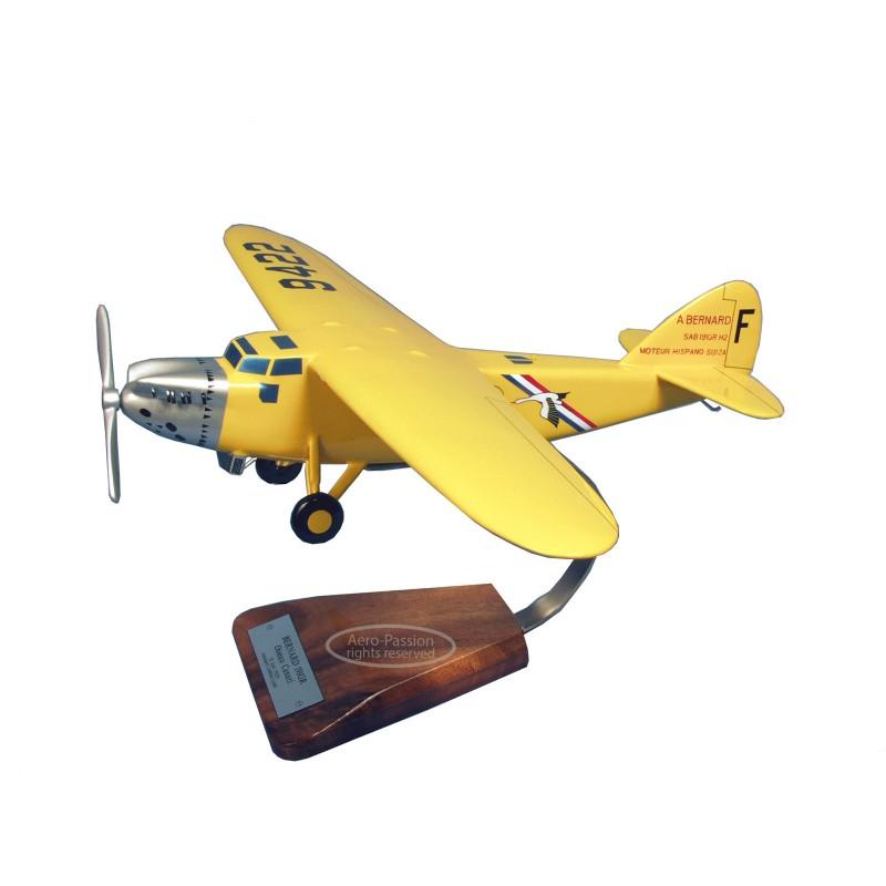 modelo de avião - Bernard 191GR numero 2 Oiseau Canari modelo de avião - Bernard 191GR numero 2 Oiseau Canarimodelo de avião - B