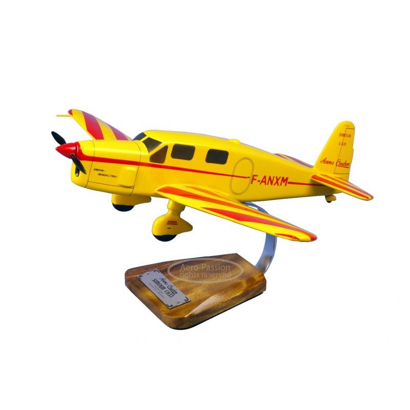 modelo de avião - Caudron C.635 Simoun modelo de avião - Caudron C.635 Simounmodelo de avião - Caudron C.635 Simoun